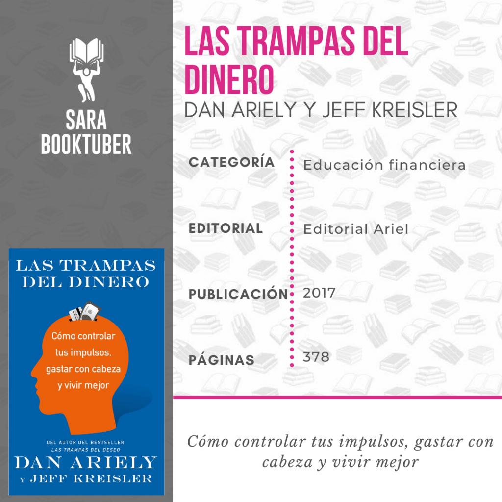 Sara Booktuber - Las trampas del dinero de Dan Ariely y Jeff Kreisler