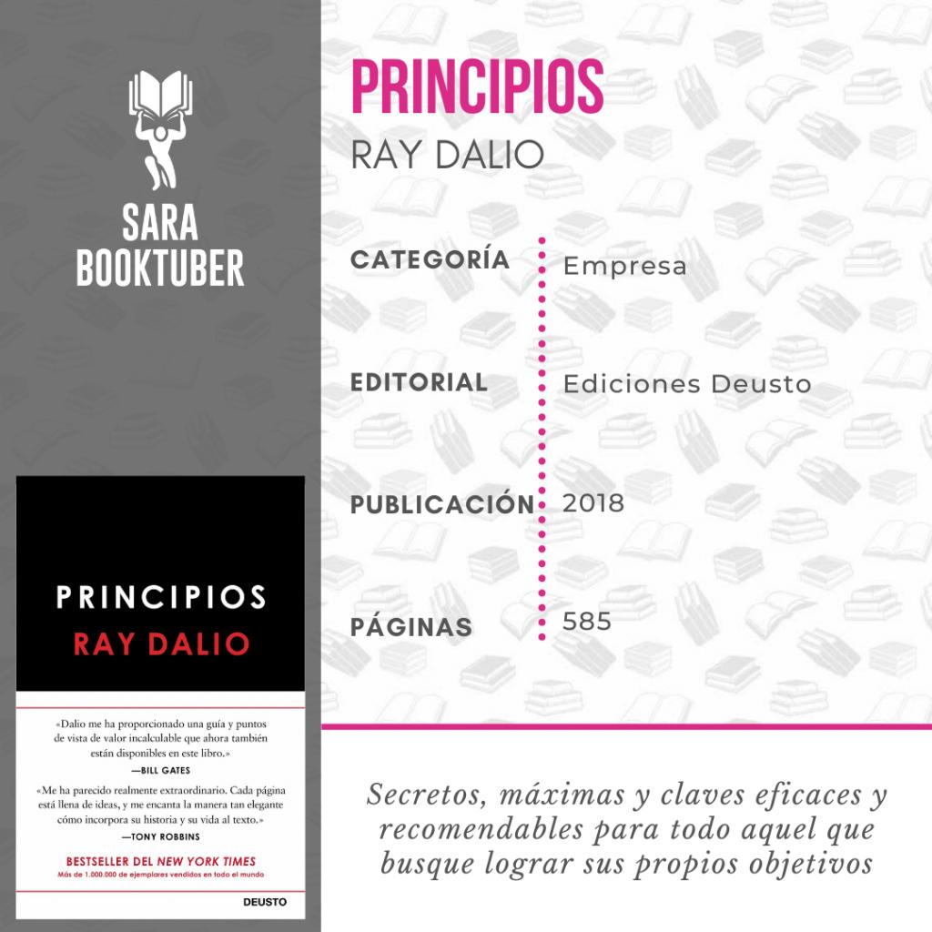 Sara Booktuber - Principios de Ray Dalio