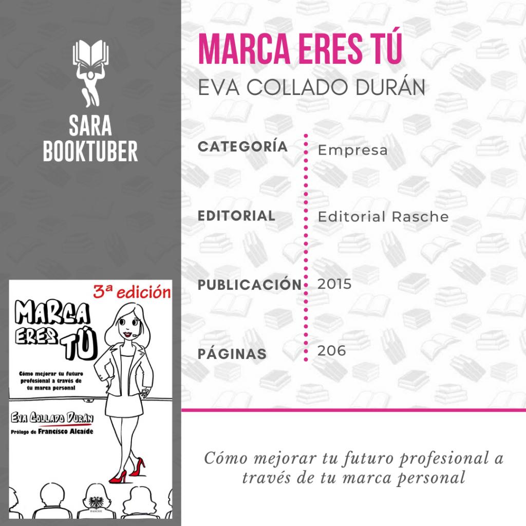 Sara Booktuber - Marca eres tú de Eva Collado Duran
