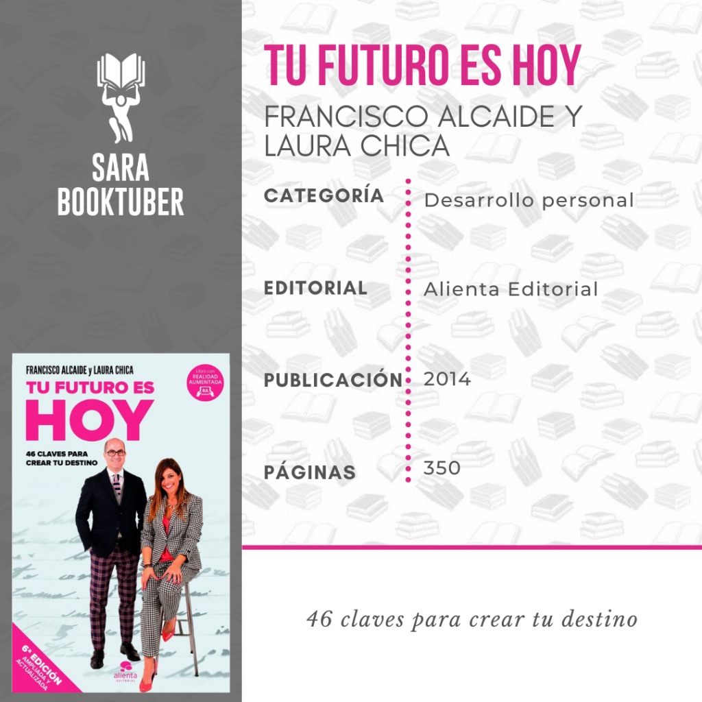 Sara Booktuber - Tu futuro es hoy de Francisco Alcaide y Laura Chica