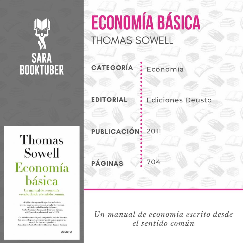 Sara Booktuber - Economía básica de Thomas Sowell