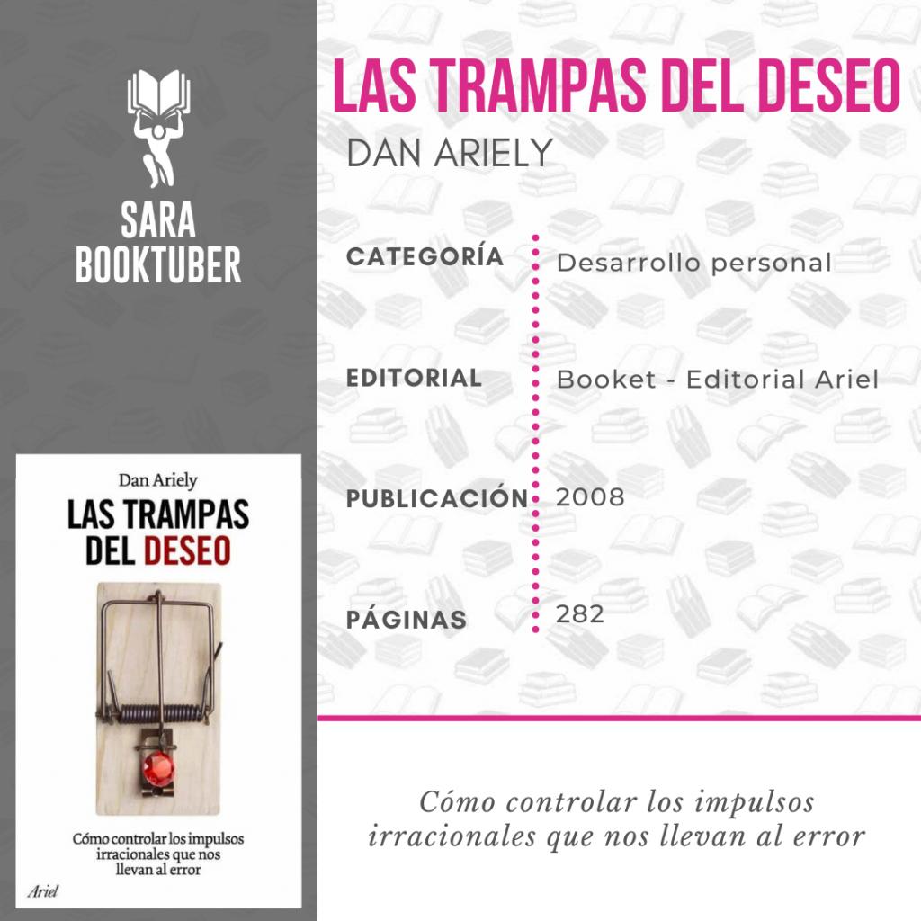 Sara Booktuber - Las trampas del deseo de Dan Ariely