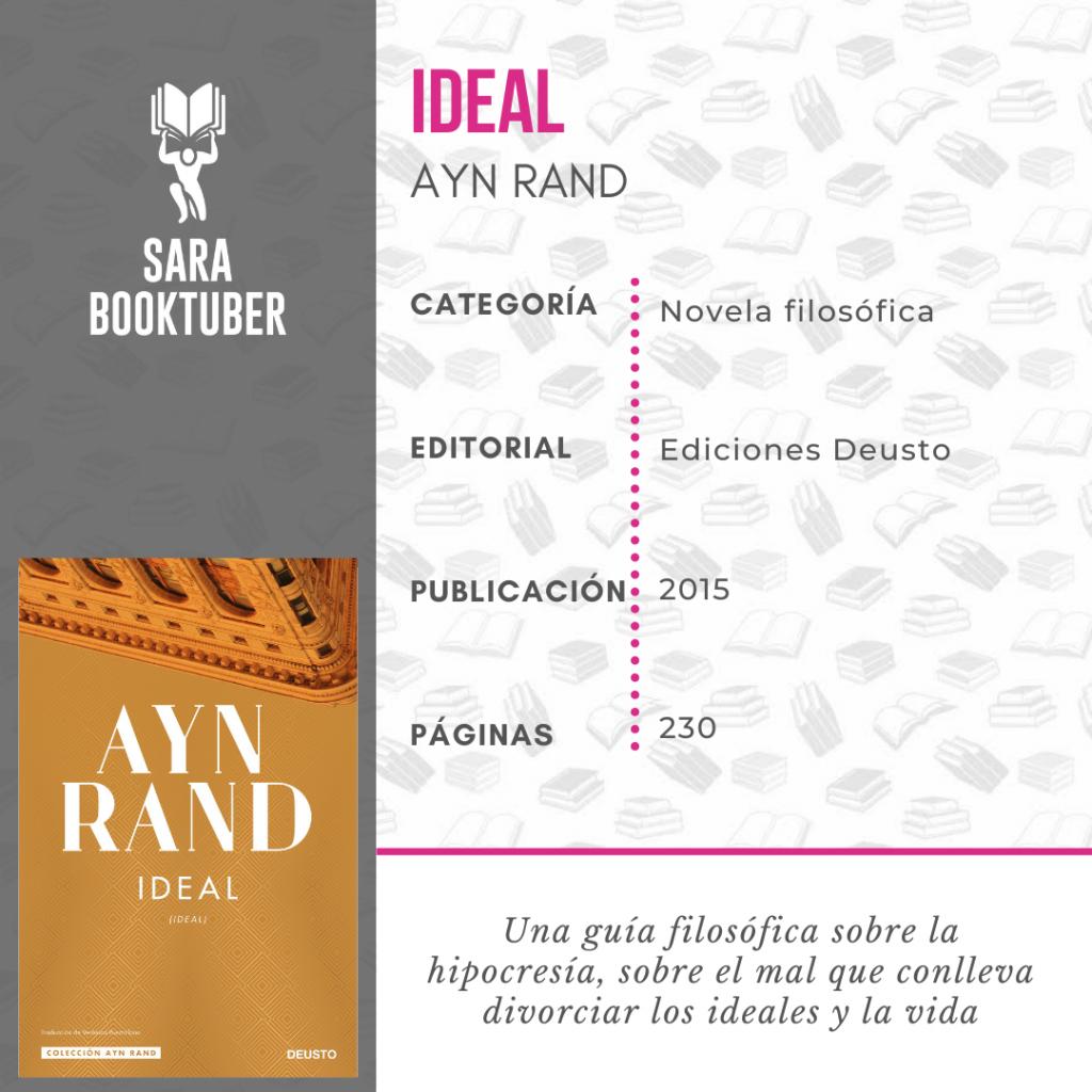 Sara Booktuber - Ideal de Ayn Rand
