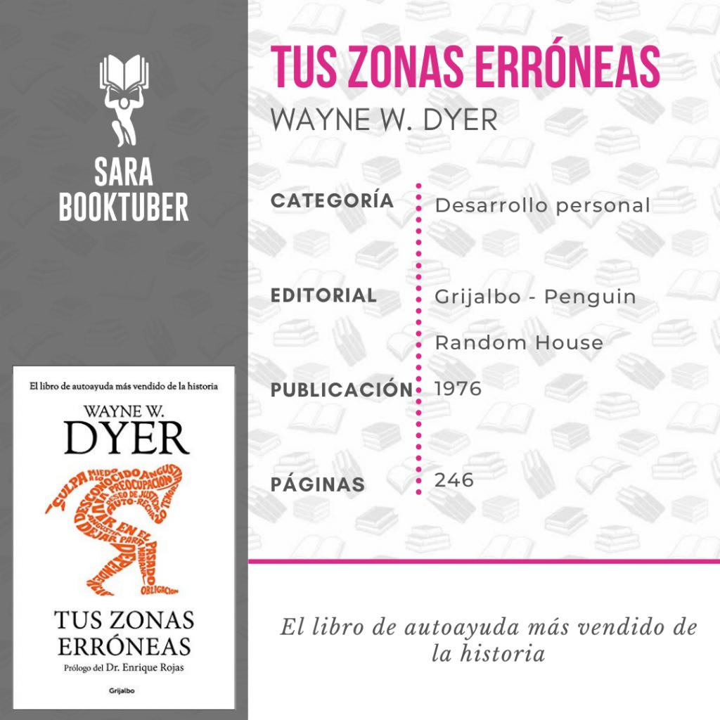 Sara Booktuber - Tus zonas erróneas de Wayne W. Dyer