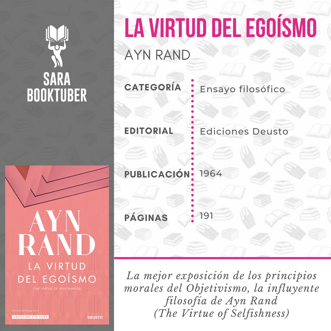 RESEÑA LA VIRTUD DEL EGOISMO DE AYN RAND